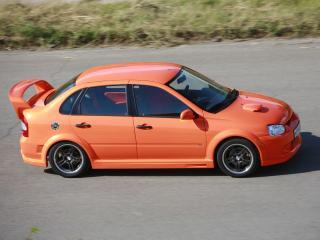 обои Lada Kalina TMS GTI (1118) скорость фото