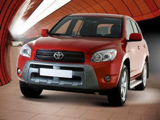 обои ЮролТюнинг Toyota RAV4 красная фото