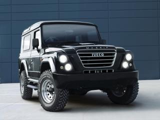 обои Iveco Massif 3-door передок фото