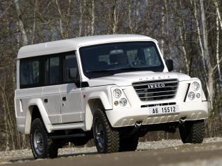 обои Iveco Massif 5-door белый фото