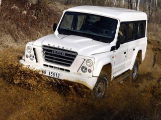 обои Iveco Massif 5-door грязь фото