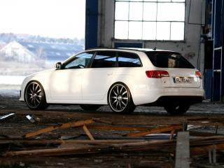 обои Avus Performance Audi RS6 Avant (4F,C6) бок фото
