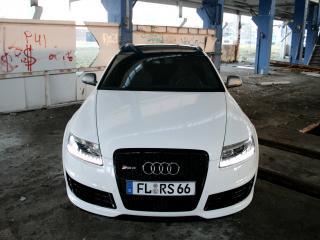 обои Avus Performance Audi RS6 Avant (4F,C6) капот фото