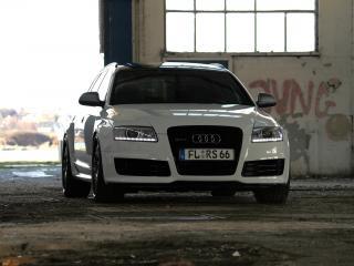 обои Avus Performance Audi RS6 Avant (4F,C6) передок фото