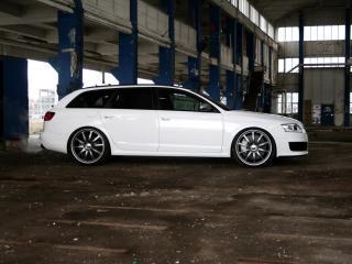 обои Avus Performance Audi RS6 Avant (4F,C6) сбоку фото