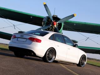 обои Avus Performance Audi S4 (B8,8K) зад фото