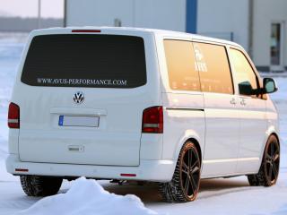обои Avus Performance Volkswagen T5 зад фото