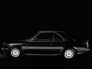 обои BMW 323i Top Cabriolet by Baur (E30) темнота фото