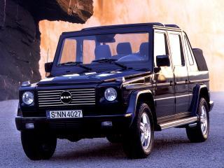 обои IVM-Automotive Baur G-Cabrio XL (W463)  передок фото