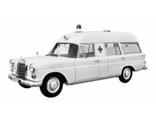 обои Binz Mercedes-Benz 200D Ambulance (W110) бок фото