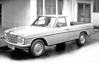 обои Binz Mercedes-Benz 220D Pickup (W114) бок фото