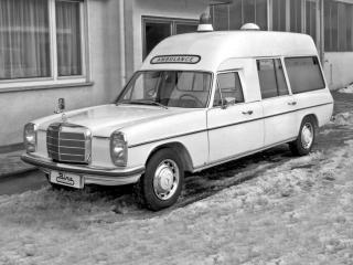 обои Binz Mercedes-Benz 230 Ambulance (W114) бок фото