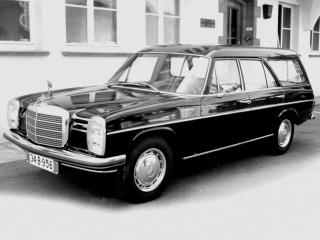 обои Binz Mercedes-Benz 230 Kombinationskraftwagen (W114) бок фото