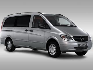 обои Binz Mercedes-Benz Vito (W639) боком фото