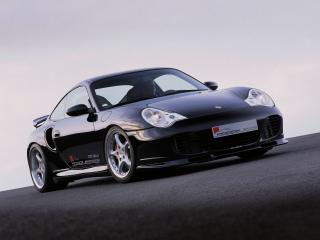 обои Roock Porsche 911 Turbo S Coupe (996) перед фото