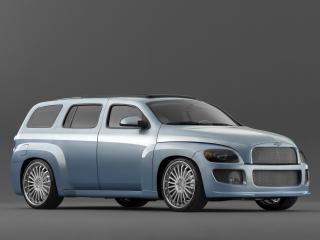 обои для рабочего стола: West Coast Customs Chevrolet HHR передок