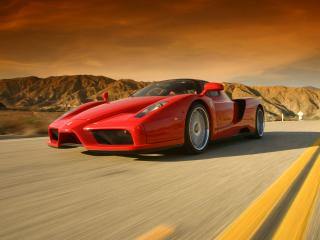 обои West Coast Customs Ferrari Enzo передок фото
