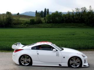 обои Xeigen Nissan 350Z (Z33) бок фото
