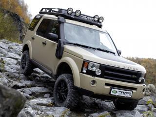 обои Matzker Land Rover Discovery 3 спуск фото