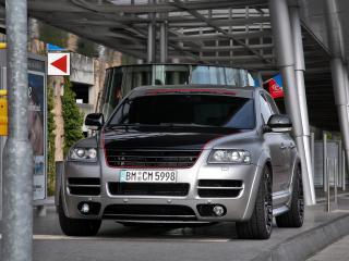 обои CoverEFX Volkswagen Touareg W12 Sport Edition город фото