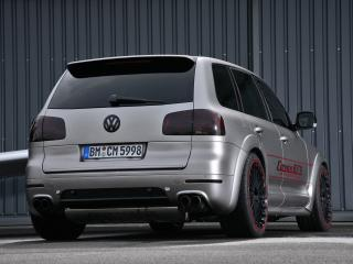 обои CoverEFX Volkswagen Touareg W12 Sport Edition сзади фото