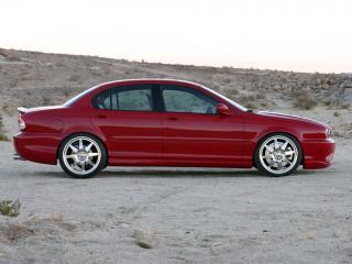 обои Bonspeed Jaguar X-Type бок фото