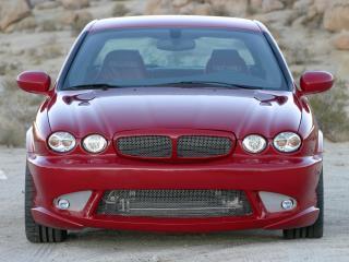 обои Bonspeed Jaguar X-Type спереди фото