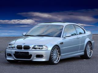 обои Breyton BMW M3 Coupe (E46) передок фото