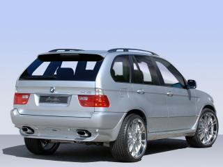 обои Breyton BMW X5 (E53) 2003 боком фото