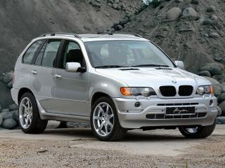 обои Breyton BMW X5 (E53) 2003 передок фото