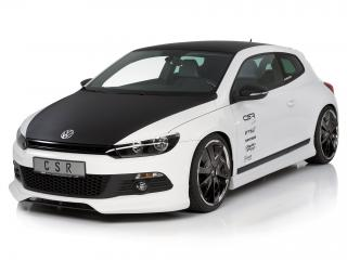 обои CSR Automotive Volkswagen Scirocco передок фото