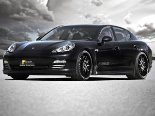 обои RSM Porsche Panamera 4S (970) передок фото