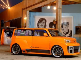 обои Five Axis Scion xB DJ Widebody Concept у дома фото