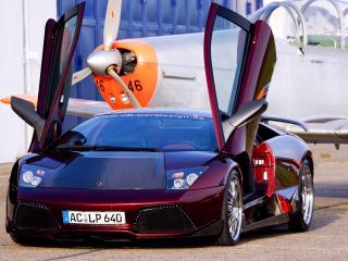 обои JB Car Design Lamborghini Murcielago LP640 перед фото