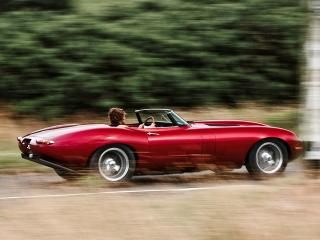 обои Eagle E-Type Speedster бок фото