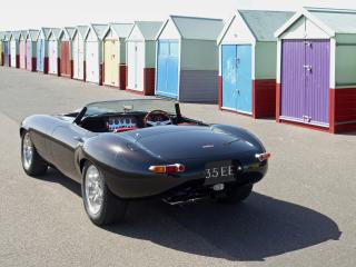 обои Eagle E-Type Speedster домики фото