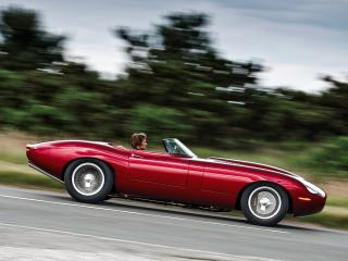 обои Eagle E-Type Speedster дорога фото