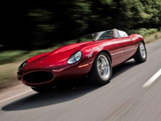 обои Eagle E-Type Speedster перед фото