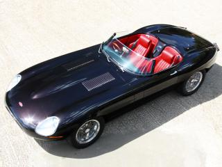 обои Eagle E-Type Speedster сверху фото