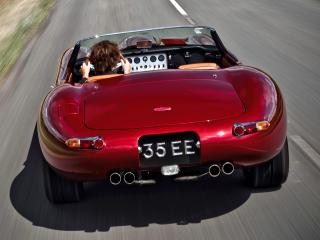 обои Eagle E-Type Speedster сзади фото