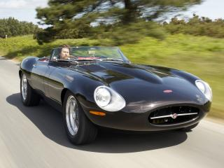 обои Eagle E-Type Speedster черная фото