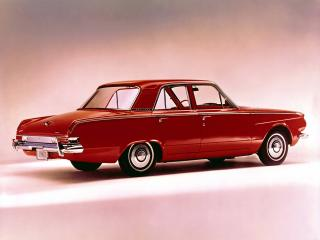 обои Plymouth Valiant 4-door Sedan 1963 бок фото