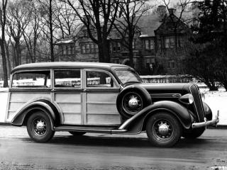 обои Plymouth Westchester Suburban 1936 бок фото