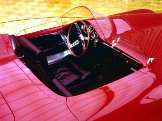 обои Plymouth XNR Concept Car руль фото