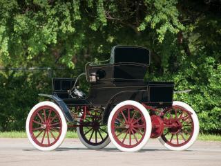 обои Pope-Waverley Model 21 Road Wagon бок фото