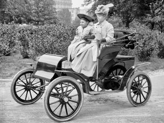 обои Pope-Waverley Victoria Phaeton бок фото