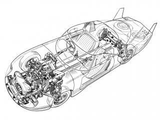 обои Panhard CD Le Mans схема фото