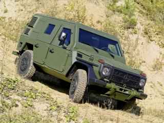 обои Mercedes-Benz G-Klasse Military (W461)  броня фото