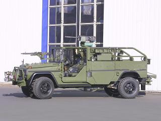 обои Mercedes-Benz G-Klasse Military (W461) бок фото