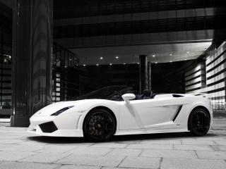 обои BF Performance Lamborghini Gallardo GT600 Spyder белый фото